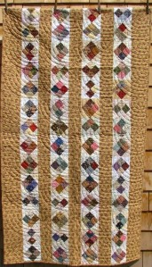 Four patch quilt by Mary Hardy