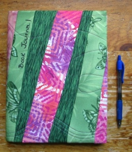 Journal cover made during a workshop put on by Peggy Notestine