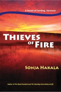 Advance Reading Copy (ARC) of Thieves of Fire