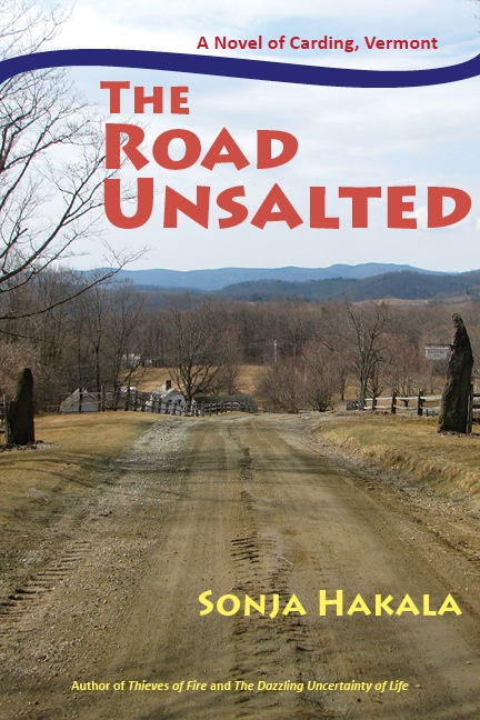 New cover for The Road Unsalted