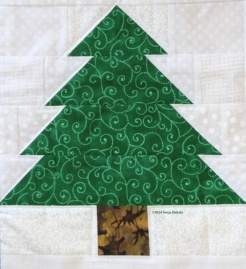 Green tree from wallhanging for web
