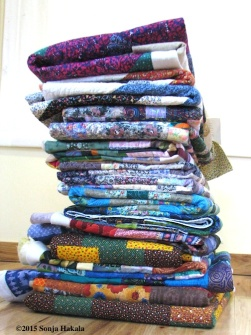 16 quilts to bind