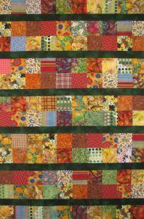 Chloe's quilt top-2015