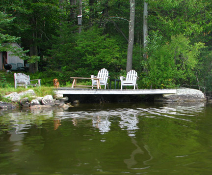 2 Chairs on dock for web