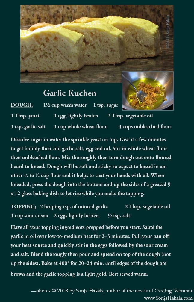 SH Garlic Kuchen