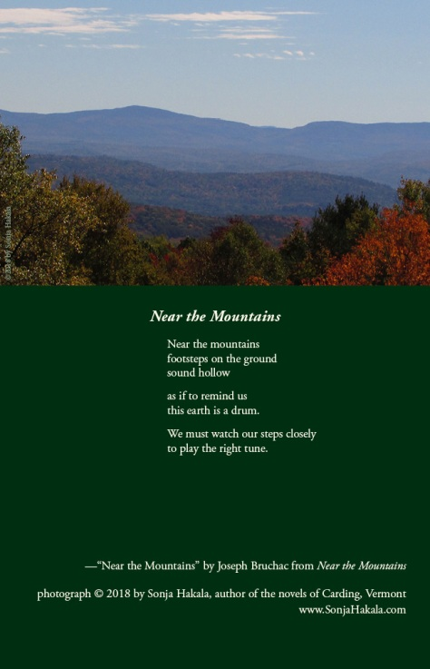 SH-near the mountain poetry