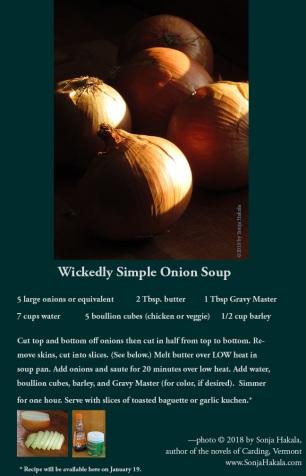 SH-onion soup