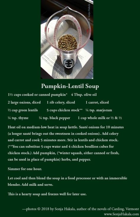 SH-pumpkin lentil soup