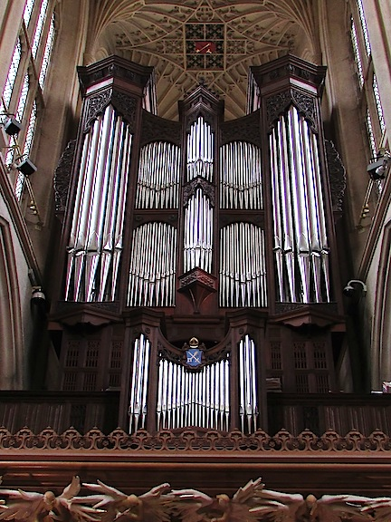 Bath Abbey organ