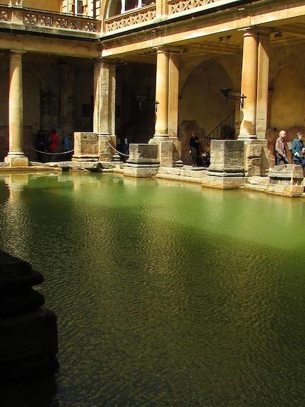 Bath Roman baths