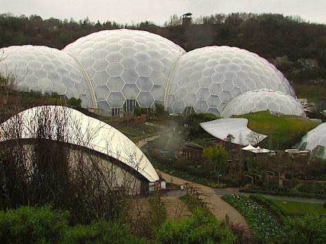Biodomes-Eden Project