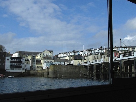 Falmouth from river Fal