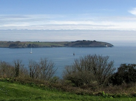 Harbor from Pendennis Castle