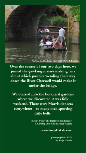 SH-punting on the Cherwell