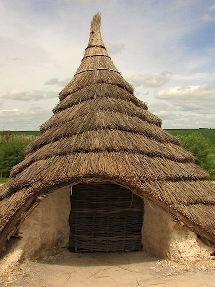 Stonehenge round house