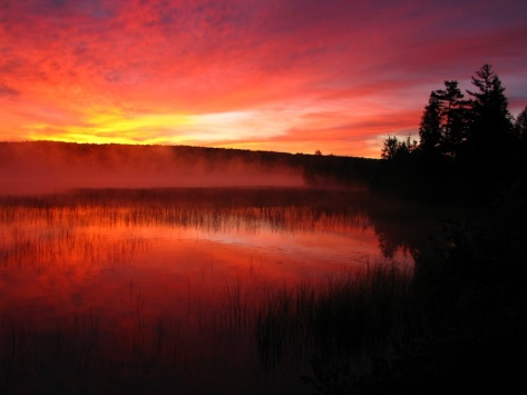 HalfMoon Lake at sunrise 2