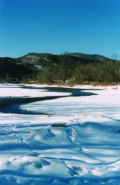 River with snow 2