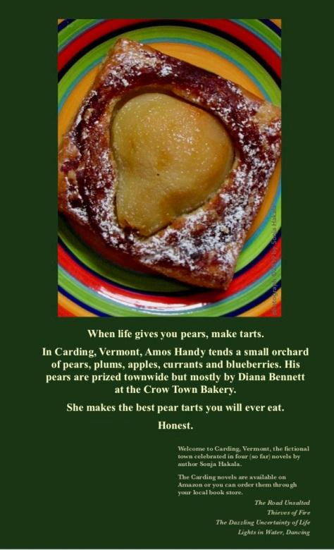 SH-Pear tart