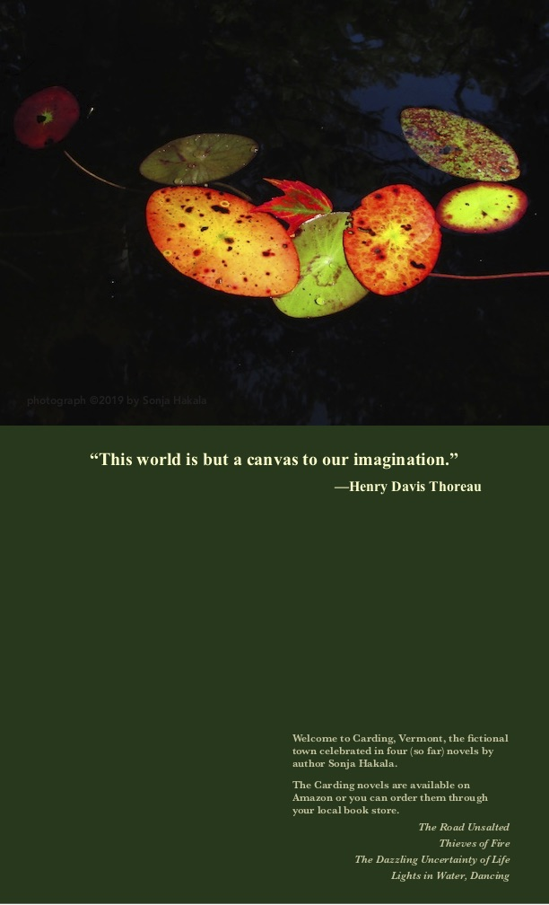 SH-Autumn leaf with Thoreau quote 2