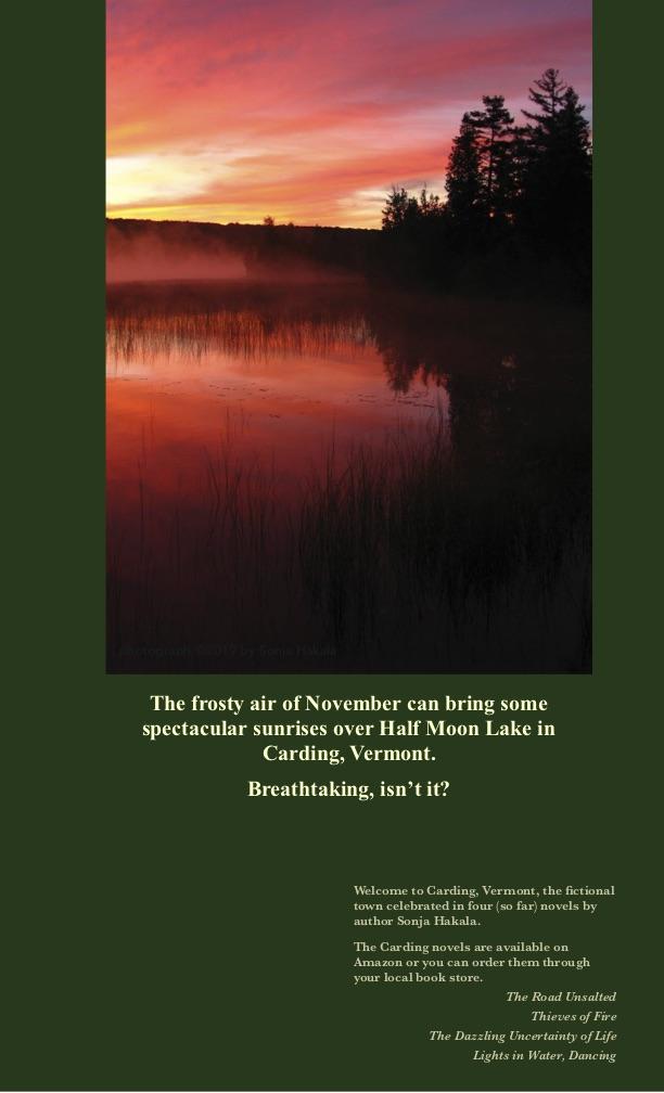 SH-Holland Pond sunrise