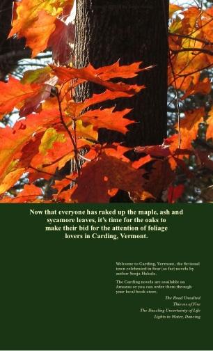 SH-Oak leaves in orange