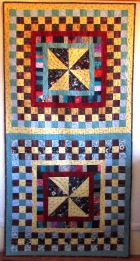 2 large pinwheel quilts-20 quilts 10-14-19